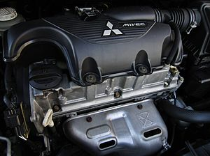 Mitsubishi Orion engine - Image: 2003 Mitsubishi Colt 4G19 engine 2