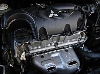 Mitsubishi Orion engine - Image: 2003 Mitsubishi Colt 4G19 engine 2