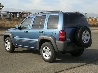 Jeep Liberty (KJ) - 2004 Jeep Liberty (USA)