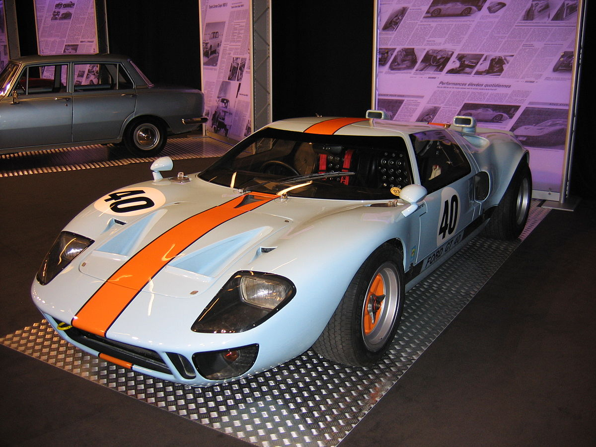 Ford Gt40 Wikipedia