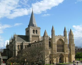 Rochester Cathedral Church in Kent, United Kingdom