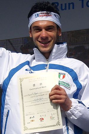 2010 European Mountain Running Championships - Marco De Gasperi reached the podium for the fourth consecutive time.