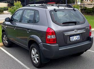 Hyundai Tucson - Second facelift Hyundai Tucson SX (Australia)