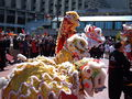 2008 Olympic Torch Relay in SF - Lion dance 48.JPG