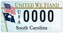 Essay On Power Of Positive Thinking United We Stand License Plate Designed By Troy Wingard For The South  Carolina Department Of Public Safety In  Essay On Principal Of A School also Courtesy Essay United We Stand Divided We Fall  Wikipedia Essay For Environment