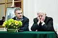 2009 Likhachev Foundation Prize ceremony - Anton Gubankov and Daniil Granin (1).jpg