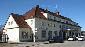 Ostseebad Binz station - Ostseebad Binz railway station