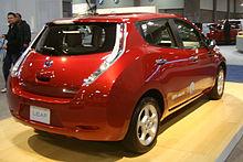 2011 Leafu0027s Rear View