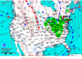 2012-01-13 Surface Weather Map NOAA.png