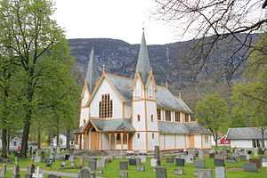 Hauge Church - Image: 2012 05 Hauge kirke 02