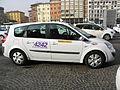 2012 Bologna taxi drivers strike, Piazza VIII Agosto (29) (Bologna).JPG