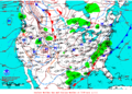 2013-01-15 Surface Weather Map NOAA.png