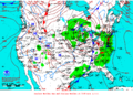 2013-02-11 Surface Weather Map NOAA.png
