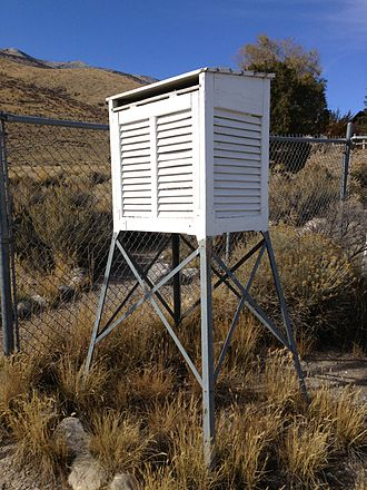 Stevenson screen - American variant (Cotton Region shelter)