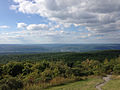 2014-08-28 16 34 04 View northwest from the north corner of the base of High Point Monument in High Point State Park, New Jersey.JPG