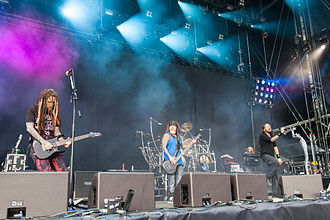 Korn - Korn performing live at the Rock 'n' Heim Rock Festival in August 2014