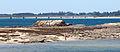 2014 Praia en Vilanova de Arousa Coa ponte da illa de Arousa ao fondo. Galiza.jpg