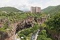 2014 Prowincja Wajoc Dzor, Dżermuk, Widok z mostu nad rzeką Arpa (04).jpg