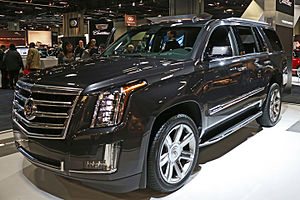 Cadillac Escalade - Image: 2014 Washington Auto Show (12141232626)