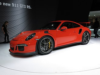 Porsche 911 GT3 - 2016 Porsche 911 GT3 RS