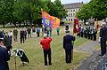 2015-06-20 200 Jahre Schlacht bei Waterloo, Welfenbund, The Royal British Legion, Hannover, Waterloosäule, (15).JPG