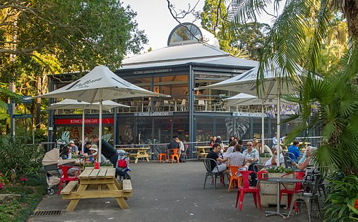 Canteen at the Royal Botanic Gardens, Sydney