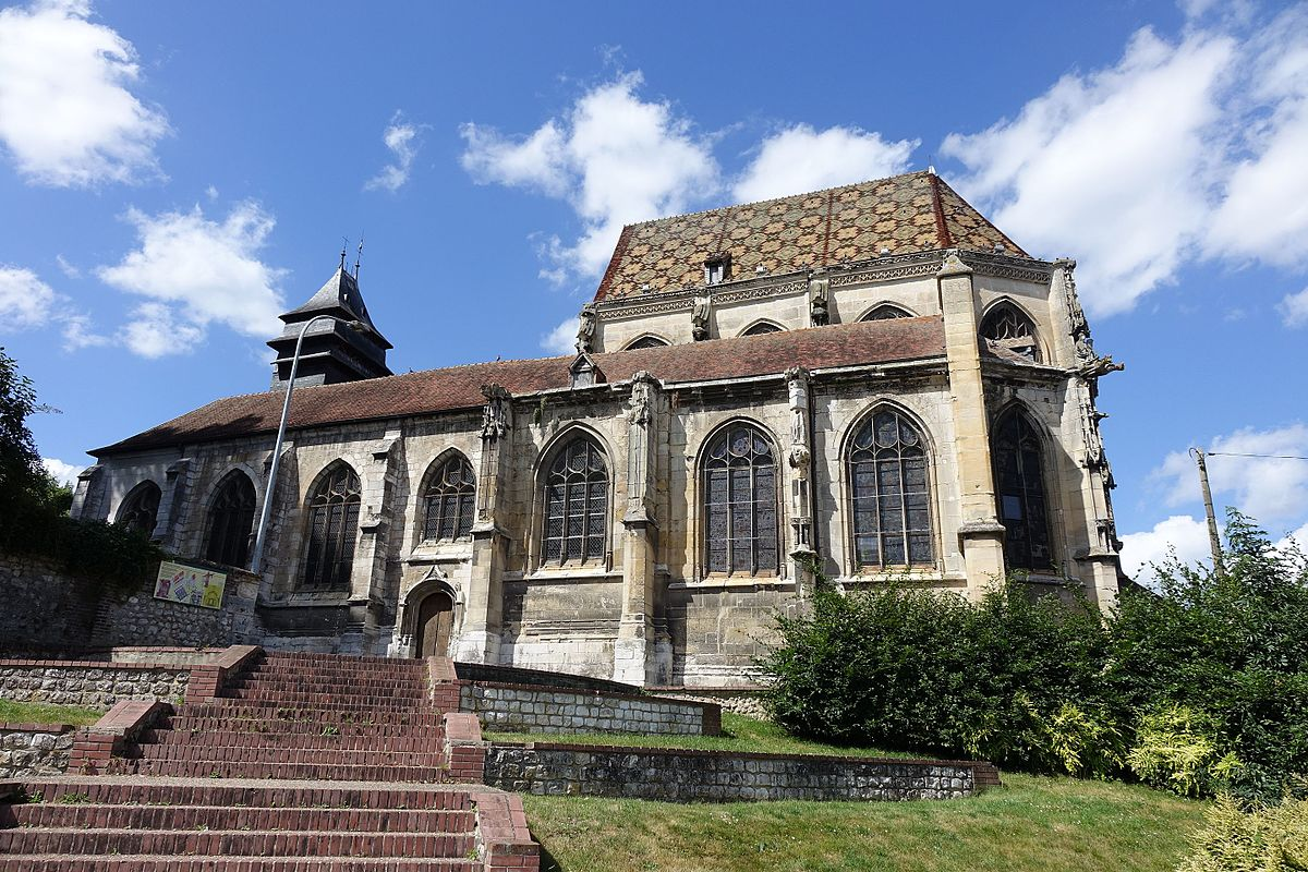 Glise saint tienne d 39 elbeuf wikip dia - Les jardins d arcadie st etienne ...