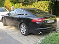 2017-08-26 Jaguar XF in Voglgasse, Vienna.jpg
