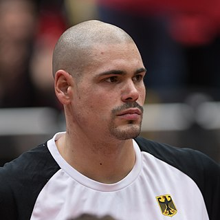 German professional basketball player