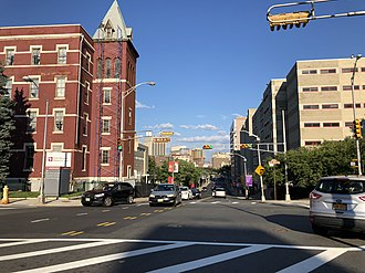 University Heights, Newark - Central Avene looking east to Downtown
