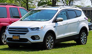 Ford Escape compact crossover vehicle produced by Ford