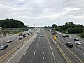 2019-06-24 15 54 41 View north along Interstate 95 (Henry G. Shirley Memorial Highway) from the overpass for Virginia State Route 286 (Fairfax County Parkway) on the edge of Newington and Springfield in Fairfax County, Virginia.jpg