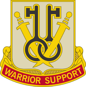 225th Brigade Support Battalion - Image: 225 Spt Bn DUI