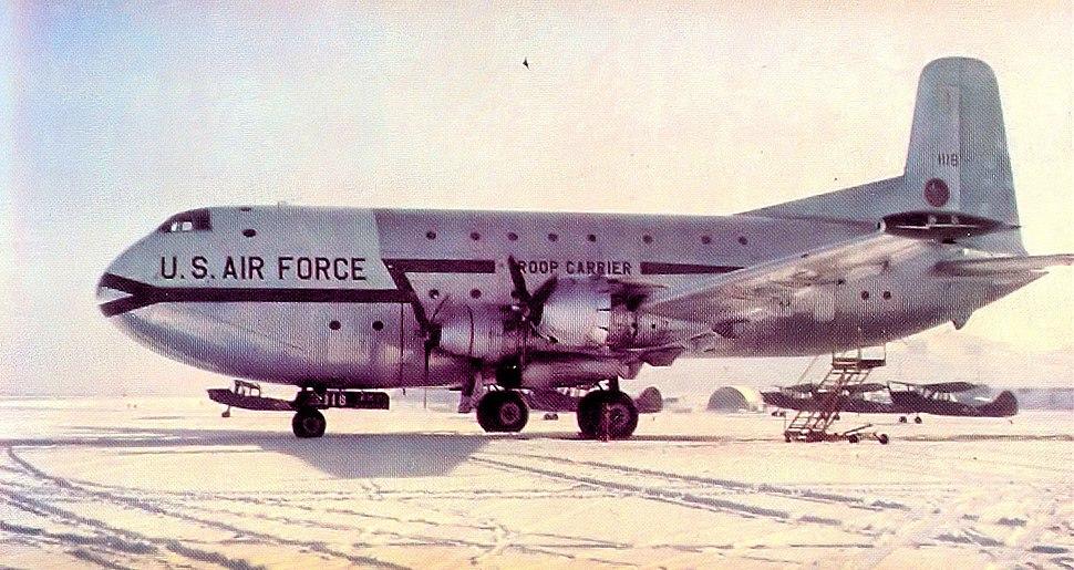 22d TCS Douglas C-124A-DL Globemaster II 51-118