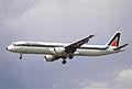 238bs - Alitalia Airbus A321-112, I-BIXA@LHR,24.05.2003 - Flickr - Aero Icarus.jpg