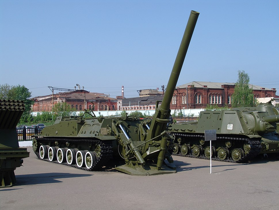 240-mm self-propelled mortar 2B8 (SAC-2S4)