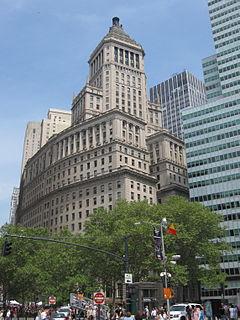 26 Broadway skyscraper in New York City