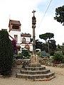 291 Creu i restaurant del santuari de la Misericòrdia (Canet de Mar).JPG
