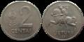 2centas 1991 Lietuva.png