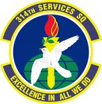 314 Services Sq emblem.png