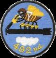 492d Bombardment Squadron - SAC - Emblem.png