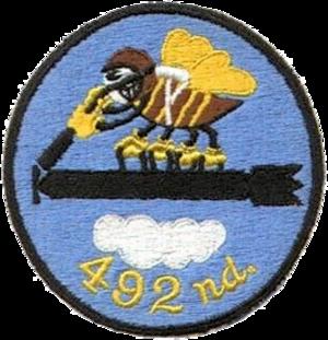 492d Bombardment Squadron - Image: 492d Bombardment Squadron SAC Emblem