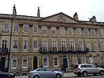 Nos 59, 53-65 (consec), Great Pulteney Street and attached lamp standards