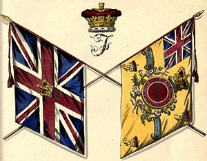 72nd Regiment, Duke of Albany's Own Highlanders - Colours of the 72nd Regiment