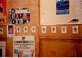 84 têtes de Boeuf aquarellé affichées dans la caféteria des Beaux-Arts le 2 mai 1997 - 3.jpg