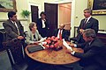 911 - President George W. Bush and speech preparation.jpg