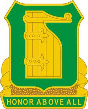 16th Military Police Brigade (United States) - Image: 91MPBn DUI