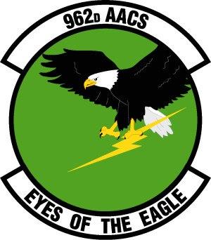 962d Airborne Air Control Squadron - 962d Airborne Air Control Squadron Patch