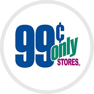 99 Cents Only Stores - Updated logo
