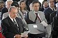 Aécio Neves - Missa em memória de Itamar Franco - 13 07 2011 (8402817726).jpg